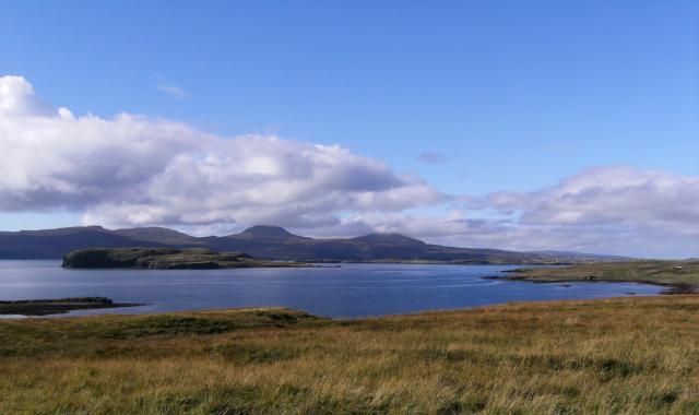 Grassy Shores of Eastern Loch Bracadale
