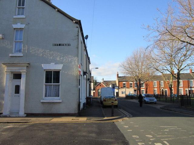 Leonard Street at Hutt Street, Hull