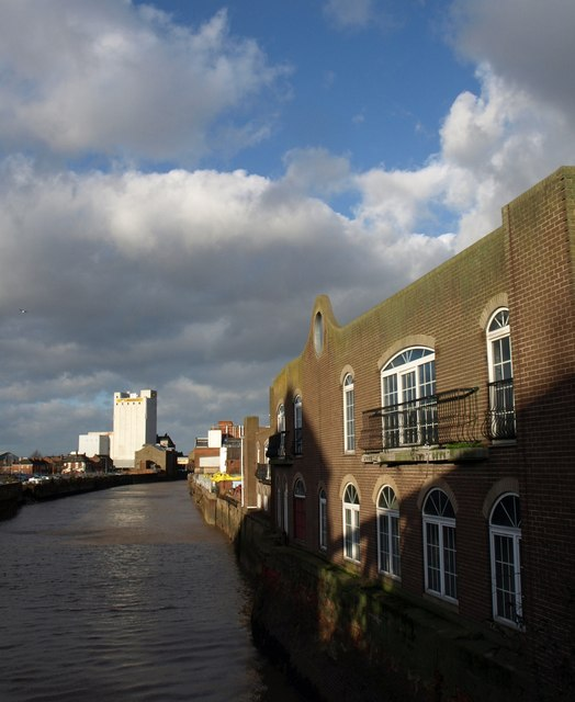 River Hull from New North Bridge