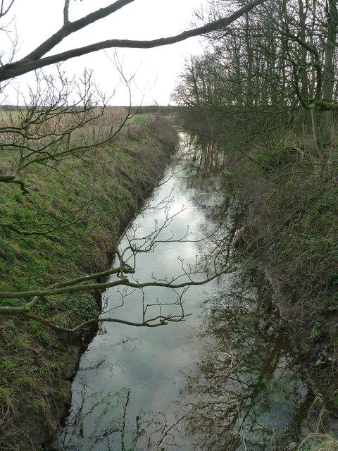 Main Dyke near Crossings Wood