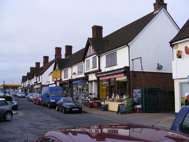 Parade of Shops, Woodbridge Road East