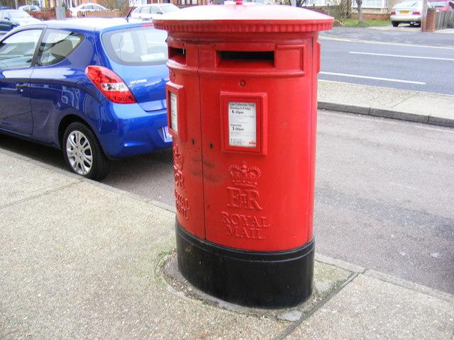 Heath Road Post Office Postbox