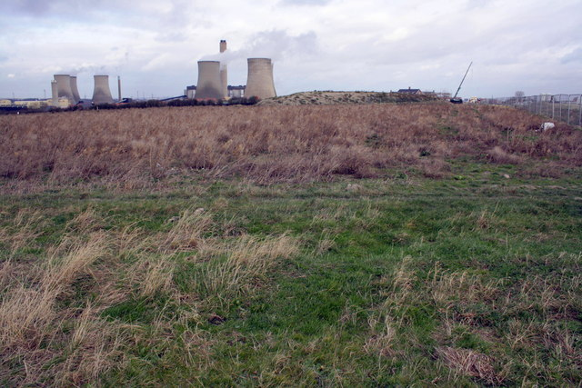 Footpath across Didcot Field