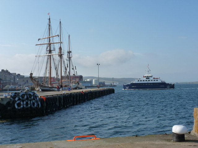 Lerwick: Victoria Pier and the Bressay ferry