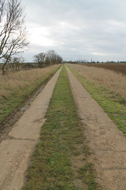 Track to Sewage Works at Horbling