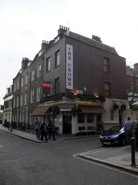 The Crown Public House, Dovehouse Street SW3