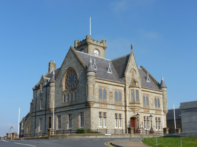 Lerwick: the Town Hall