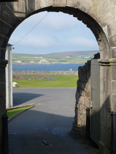 Lerwick: entrance to Fort Charlotte
