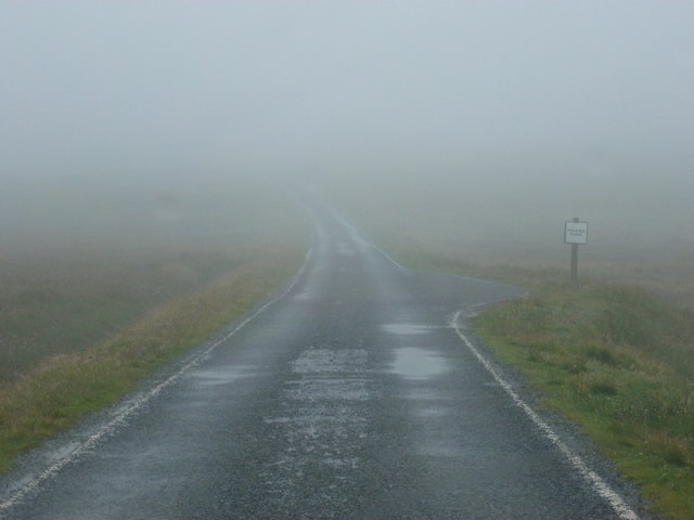 Whalsay: road from Isbister to Brough