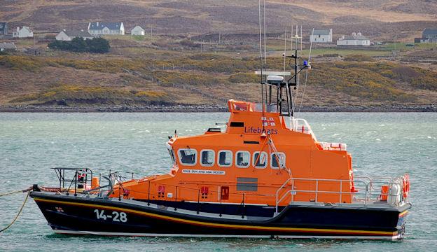 Achill lifeboat