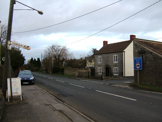 The turning for Cowship Lane