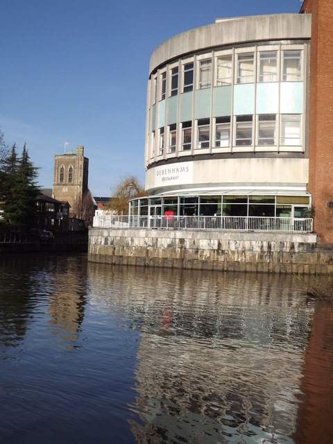 River Wey, Guildford
