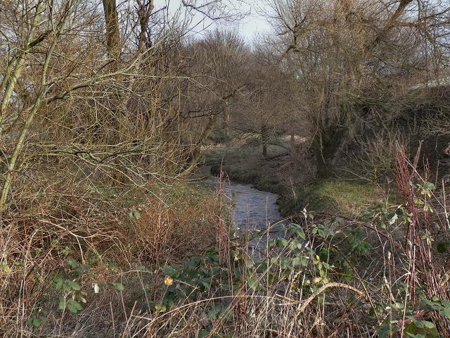 Chorlton Brook, Hough End Clough