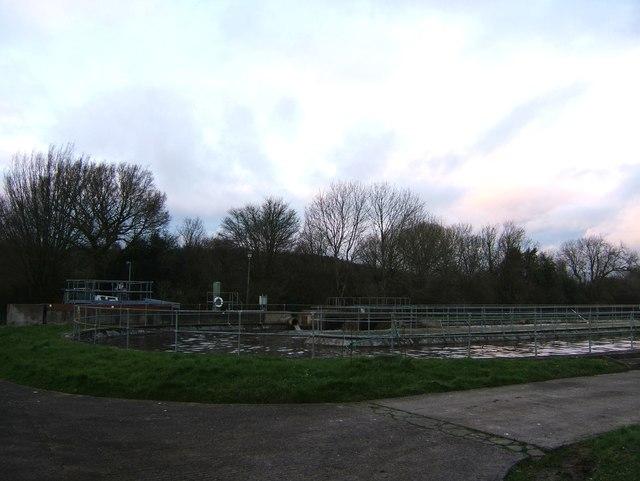 Cromhall sewage treatment works