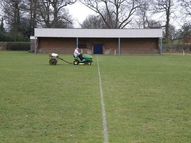 Sports ground maintenance