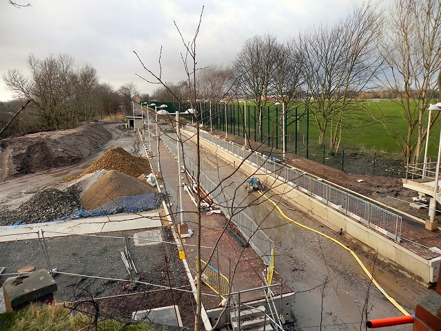 Metrolink Extension, Withington