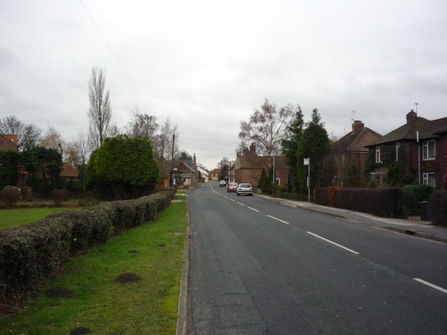 Entering Riccall