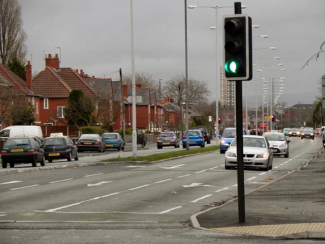 Wilbraham Road (A6010)