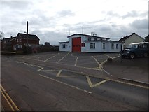ST0107 : Cullompton Fire Station by David Smith
