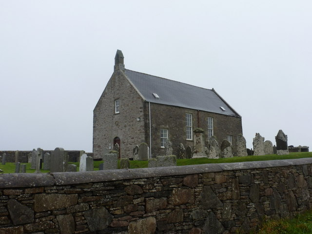Whalsay: the kirk