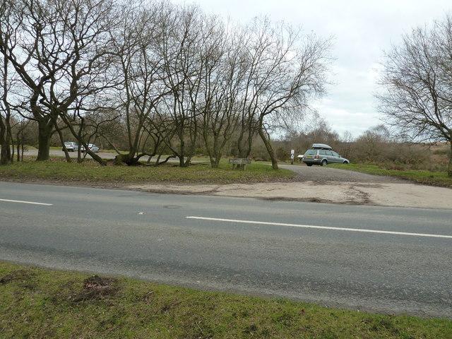 Car park off Crowborough Road
