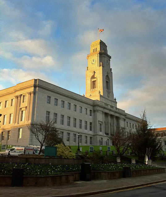 A cleaner Barnsley Town Hall
