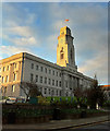 SE3406 : A cleaner Barnsley Town Hall by Steve  Fareham