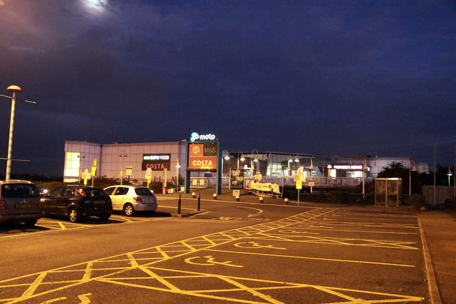 Motorway services at Thurrock