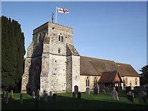 SU8441 : St Mary's, Frensham by Colin Smith