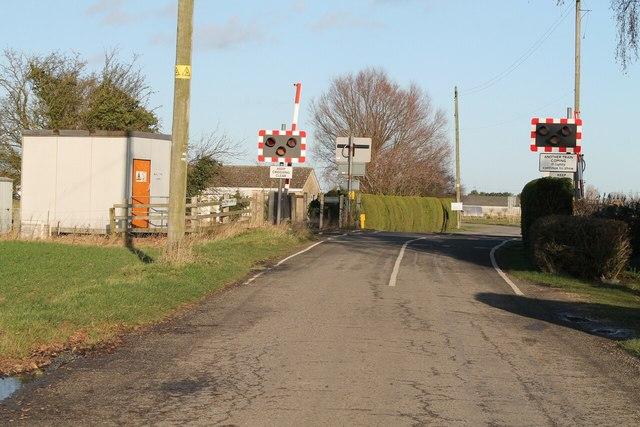 Malting Lane Level Crossing