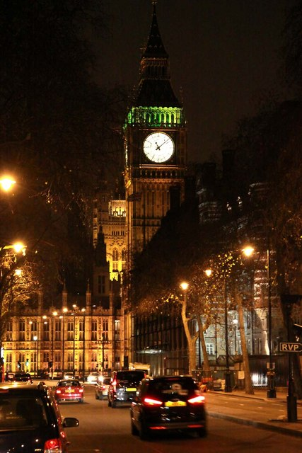 The Clock Tower from Victoria Embankment