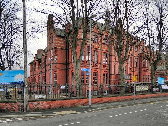 William Hulme's Grammar School Original Building