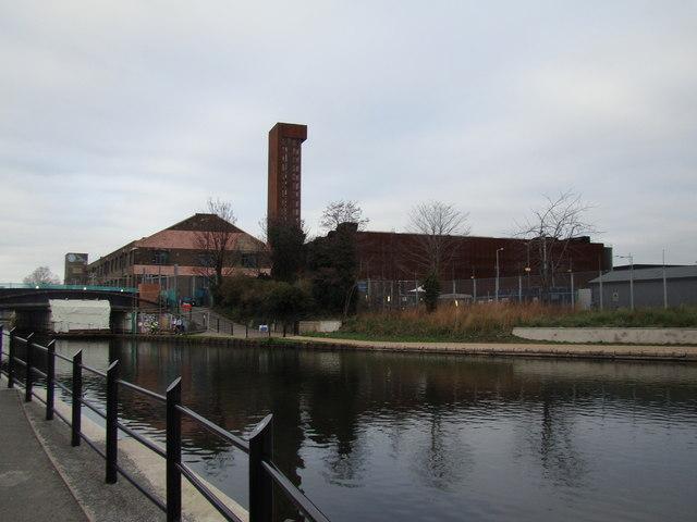 View of the Copper Box Arena
