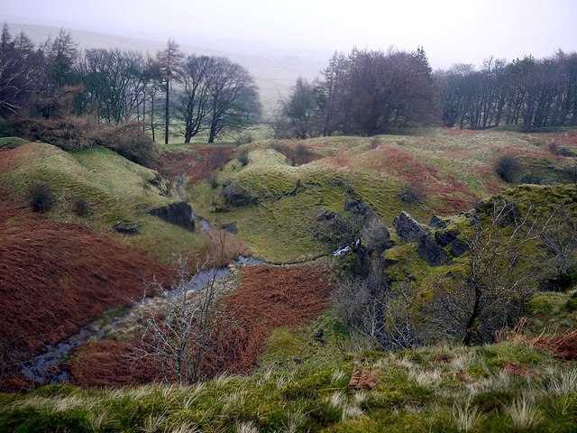 Disused quarry south-east of Tarn House