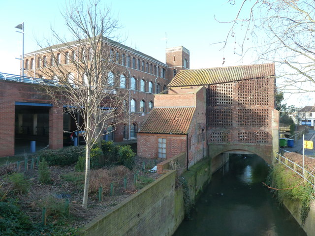 Studley mill and handle house, Trowbridge