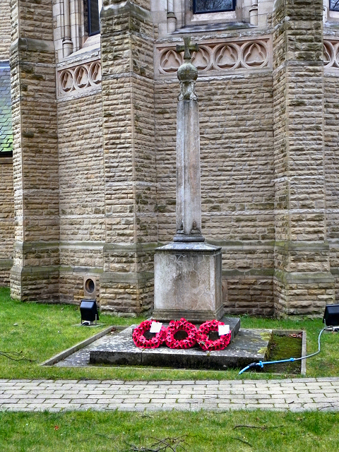 St Edmunds Church War Memorial, Alexandra Road South, Whalley Range