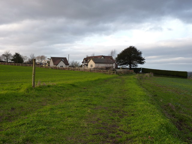 Bridleway into Childpit Lane