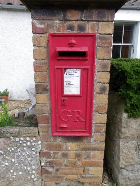 Postbox, Boarhills