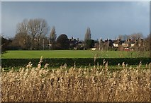 TA0832 : Oak Road Playing Fields, Hull by Derek Harper