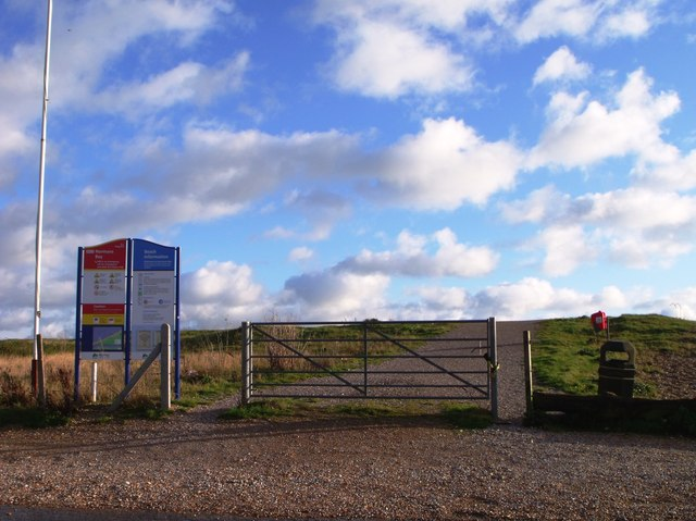 Metal gate, Norman's Bay, East Sussex
