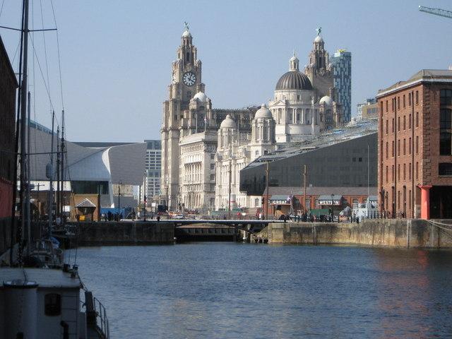 View Across Albert Dock
