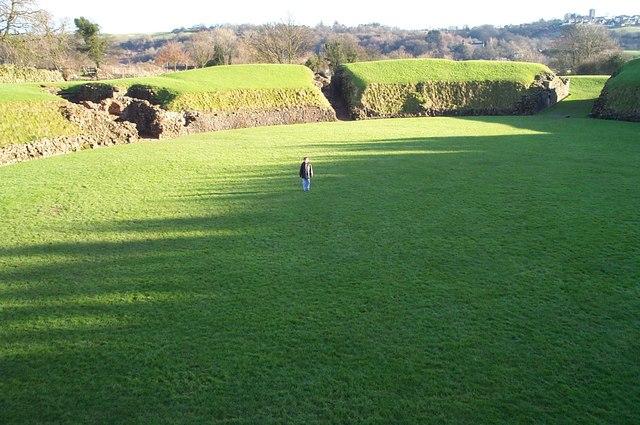 Roman Amphitheatre in Caerleon