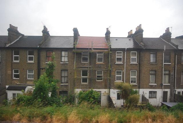Terraced houses, St John's