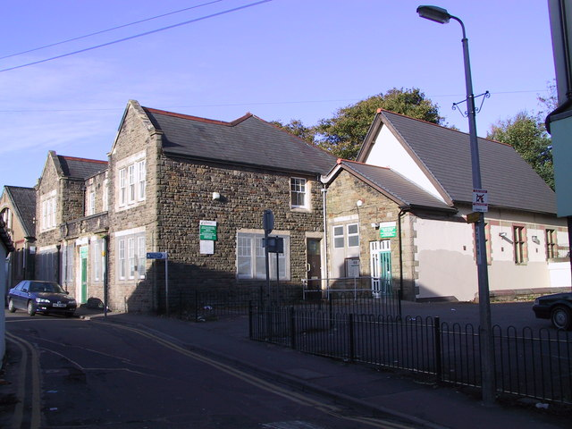 The Old Police Station, Caerphilly Town Centre Nov 2001