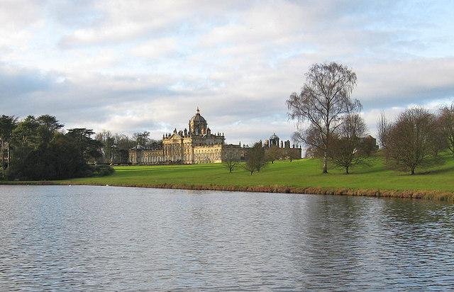 Castle Howard, January view