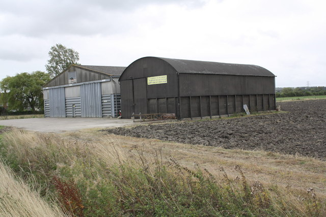 Barns near 'The Views', Hanney Road