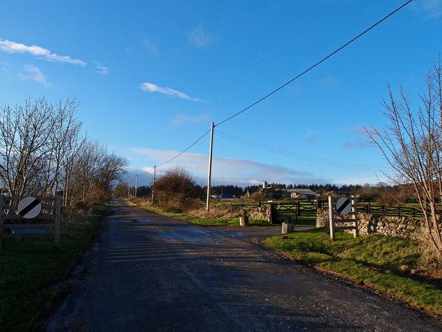 Leaving Hudswell