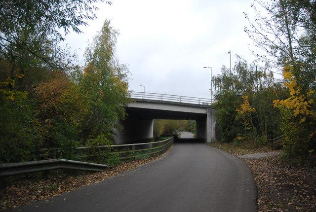 Bridge over the Blackwater Valley Way