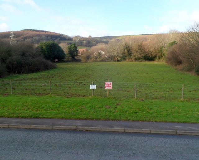 Field opposite Ashleigh Court, Cwmbran