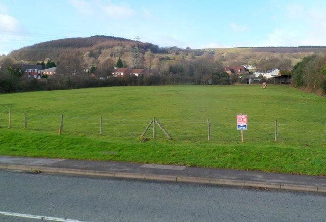Field NE of Henllys Village Way, Cwmbran